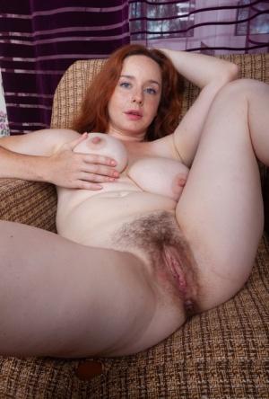 Redhead Hairy Pussy