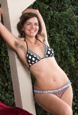 Hairy Pussy Bikini