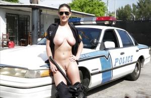 Hairy Cop Porn