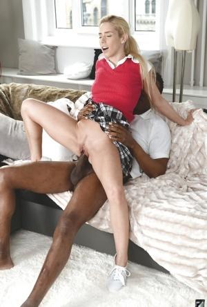 Interracial Hairy Pussy